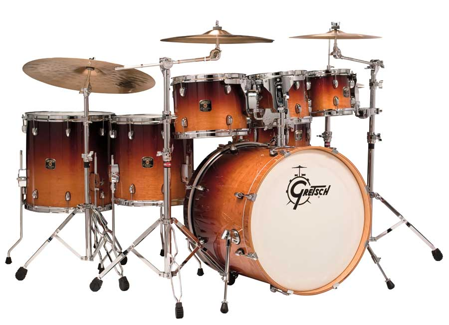 gretsch catalina maple 7 piece shell pack drum kit mof with hardware pack ebay. Black Bedroom Furniture Sets. Home Design Ideas