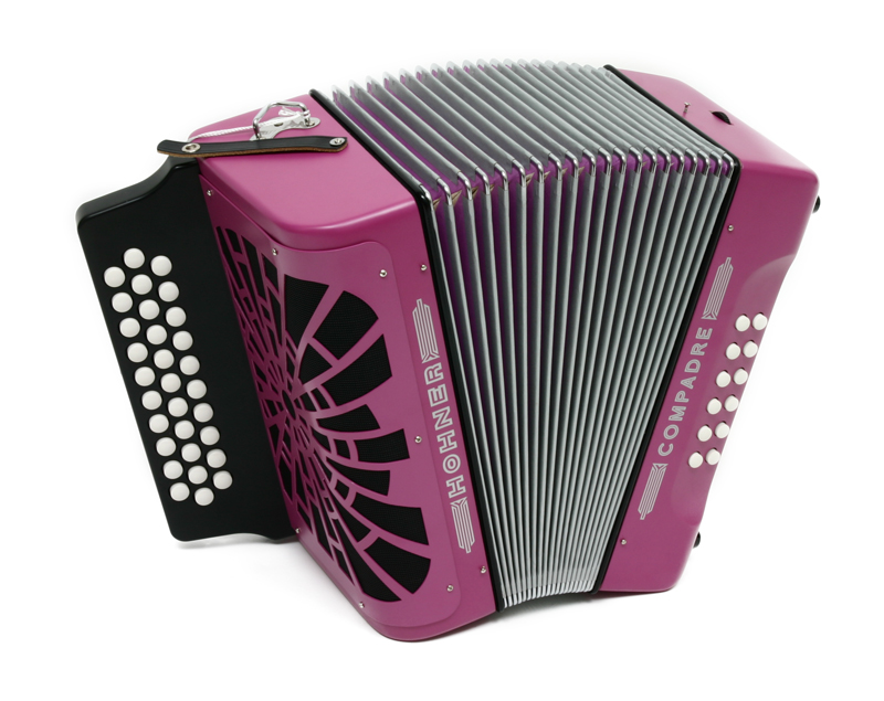 hohner compadre diatonic accordion g c f violet. Black Bedroom Furniture Sets. Home Design Ideas