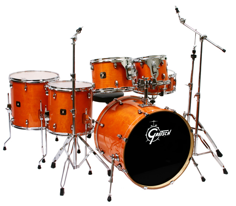 Catalina Maple Kit In A Honey Amber Transparent Finish
