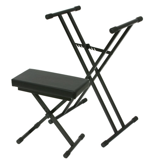 Osp keyboard stand and bench combo package ebay Keyboard stand and bench